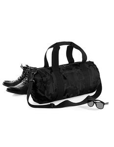 Camo Barrel Bag BagBase BG173