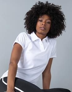 Ladies Piped Performance Polo Finden+Hales LV371