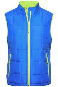 Ladies` Padded Light Weight Vest James+Nicholson JN1036