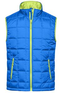 Men´s Padded Light Weight Vest James+Nicholson JN 1037