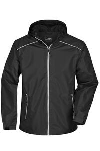 Mens` Rain Jacket James+Nicholson JN1118