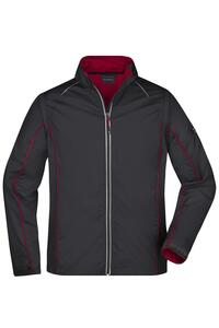 Men`s Zip-Off Softshell Jacket James+Nicholson JN1122