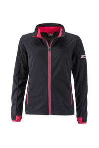 Ladies` Sports Softshell Jacket James+Nicholson JN1125