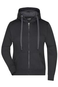 Ladies` Hooded Jacket James+Nicholson JN 594