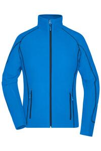 Ladies Structure Fleece Jacket - James & Nicholson JN596
