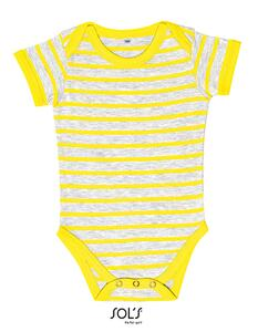 Baby Striped Bodysuit Miles SOL´S 01401