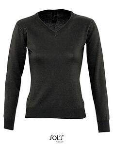 Women`s V Neck Sweater Galaxy SOL´S 90010