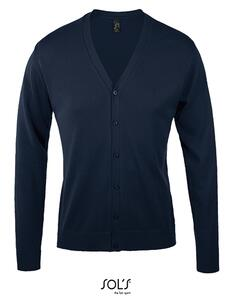 Golden Men V-Neck Knitted Cardigan SOL´S 90011