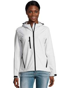 Women`s Hooded Softshell Jacket Replay SOL´S 46802