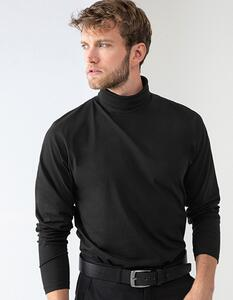 Roll-Neck Long-Sleeve Top Henbury H020