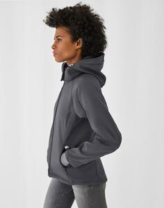 Hooded Softshell/women B & C JW937