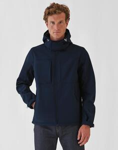 Hooded Softshell/men B & C JM950