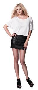 Womens Cropped Top T-Shirt N91 von Continetal Clothing