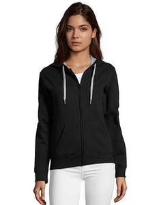Contrast Hooded Zip Jacket Soul Women SOL´S 47100
