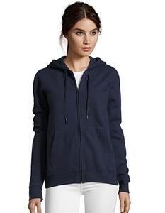 Women Hooded Zipped Jacket Seven SOL´S 47900