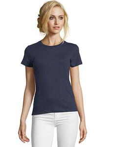 Women`s Round Neck Fitted T-Shirt Imperial SOL´S 02080