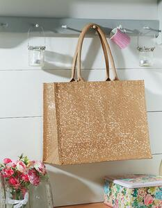 Shimmer Jute Shopper Westford Mill W437