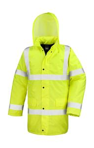 Core High Viz Motorway Coat Result R218X