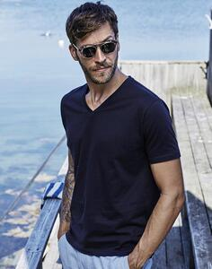 Mens Fashion V-Neck Sof-Tee Tee Jays 8006