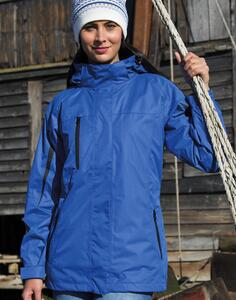 Ladies` 3-in-1 Journey Jacket Result R400F